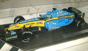 Renault R25 F1 Car.  1:18 Diecast Model. G.Fisichella. 2004.  Hot Wheels.  jt