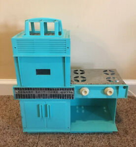 Vintage 1960's Kenner Easy Bake Oven TURQUOISE Working