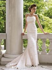 A-line Lace Mori Lee Wedding Dresses