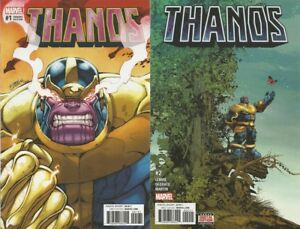 MARVEL COMICS - THANOS #1 LIM VARIANT & #2 - GUARDIANS OF THE GALAXY - BRAND NEW