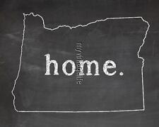 "OREGON HOME STATE PRIDE 2"" x 3"" Fridge MAGNET CHALKBOARD CHALK COUNTRY"