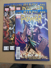 Heroic Age : Prince Of Power 1 - 4 . Lot Complet . Marvel 2010 . VF
