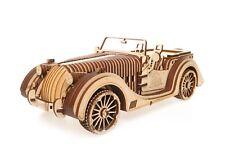Ugears Roadster Vm-01 - Wooden Mechanical Model - 437 Pieces