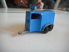 Politoys Pony Trailer Porta Cavalli in Blue