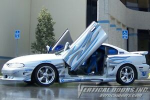 Vertical Doors - Vertical Lambo Door Kit For Ford Mustang 1994-98 -VDCFM9498