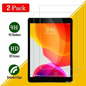 """2 Tempered Glass Screen Protector For iPad 7th 8th Gen 10.2"""" 6th gen 9.7 nonoem"""