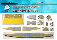 Shipyard 1/350 350011 Wood Deck German Scharnhorst for Dragon 1036