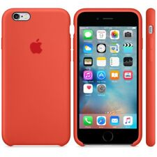 """ORANGE GENIUNE ORIGINAL OFFICIAL Apple Silicone Case iPhone 6S PLUS 5.5"""""""