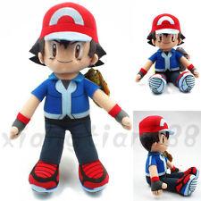 New Anime Pokémon Pocket Monster Ash Ketchum Stuff Plush Toys Dolls Gift Otaku
