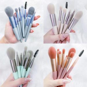 Makeup brush set 8 brush portable storage powder brush blush face eye brush