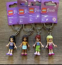 Lego Friends keychains set of 4