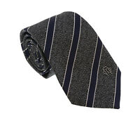 Roberto Cavalli ESZ038 05001 Grey Repp Tie