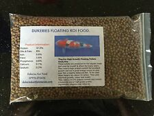 2kg 6mm Floating Koi/Pond Fish Protein/Daily Feed Pellets.