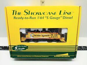 The Showcase Line 00441 SW-1 Diesel Engine S-Scale AC/DC 8403 Super Rare