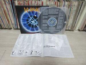 Def Leppard - Adrenalize 9 Tracks Korea LP 4 Pages Insert