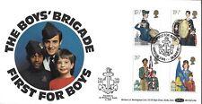 GB 1982 organizaciones juveniles Benham OFICIAL FDC London SW6 chicos Brigada PMK