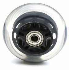 MINI MICRO SCOOTER WHEEL BLACK BACK REAR WHEEL ABEC-7 608zz BEARINGS 80mm