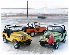 1971 Jeep Renegade, 3 Jeeps, Refrigerator Magnet, 40 Mil