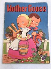 Mother Goose Illustrated By Beatrice Mallet 1939 Whitman Publishing
