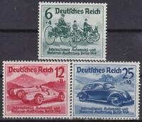 3rd Reich International Automobile Exhibition 1939 Superb MNH!