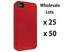 Wholesale Lot of Body Glove Red Soft Touch Back Cover Case for iPhone 4/4S/4G