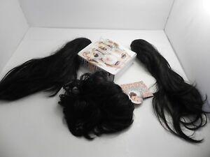 4 POP Hair U Wear Clip In Extensions Pony Tails HairUWear Black R2 Ebony