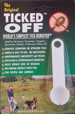 THE ORIGINAL TICKED OFF WORLDS SIMPLEST TICK REMOVER KEY HOLE SPOON