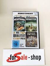 DVD MONSTERKINO - Megapiranha - Monster - Sherlock Holmes