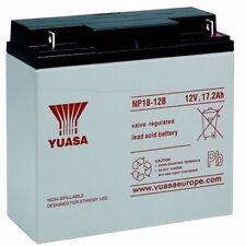 YUASA NP18-12, 12V 18AH (comme 17Ah & 20Ah) scellé fil rechargeable UPS Batterie