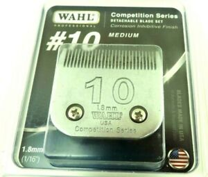 Wahl Competition Series Size #10 Animal Clipper Replacement Blade #2358-100