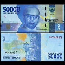 Indonesia 50000 Rupiah, 2016/2017, P-NEW, UNC>New Design