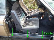 Mercedes w123 c123 123 Coupe CE CD junta faldones nuevo Sill Rubber Seal New