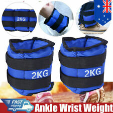 2x2kg Ankle Wrist Weights Straps Gym Yoga Equipment Fitness Training Leg Band