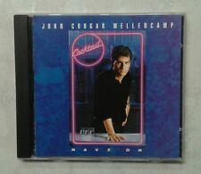 JOHN COUGAR MELLENCAMP rare RAVE ON CD single 1988 PROMO Cocktail soundtrack