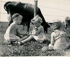 Enfants et Chaton c. 1940 - Ph. H. Armstrong Roberts - DIV 2015