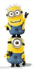 DESPICABLE ME MINIONS FACES BEACH / BATH TOWEL GREAT GIFT IDEAS YELLOW WHITE