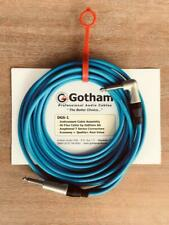 DGS by Gotham Instrument Cable Assemblies Right Straight 12FT BLUE