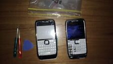 Nokia  E71 - White Steel Smartphone with lots of accessories, housing, chargers