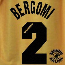 BERGOMI KIT INTER THIRD NAME SET PERSONALIZZAZIONE FLOCK 1996-97