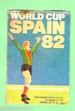 #D80.  MATCHBOX LABEL - SOCCER FOOTBALL WORLD CUP SPAIN 1982