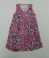 Billabong Kids Girls Medium Pink Casual Animal Print Sleeveless Dress