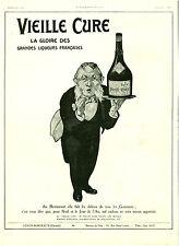 Publicité ancienne Liqueur vieille cure la gloire des  1920