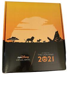 2021 runDisney Lion King Virtual Challenge Medal BOX ONLY Run Disney Race
