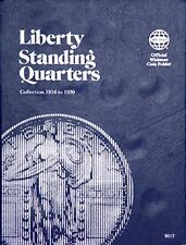 Whitman Liberty Standing Quarters Coin Folder 1916-1930 #9017