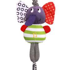 Music Elephant Rattle Infant Newborn Baby Pram Bells Soft Hanging Doll Toy Gifts