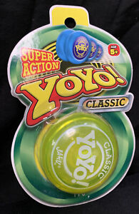 YoYo Dynamic Super Action Classic in Yellow by Ja-Ru Great for Tricks Brand New!