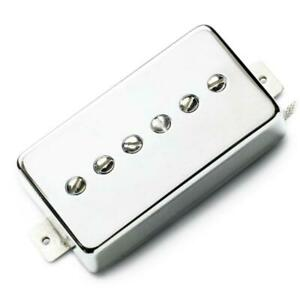 Lindy Fralin Hum-Cancelling P-90 In Humbucker Nickel Cover Neck Position