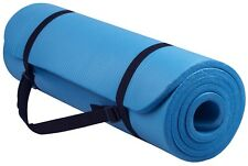 Yes4All AAC Extra Thick Yoga Mat - Blue