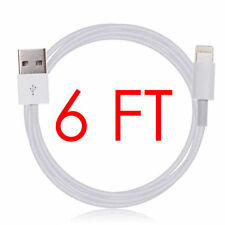 6FT USB SYNC DATA CABLE CHARGER POWER CORD FOR iPad 4 AIR 1 2 MINI 3 IPHONE 6