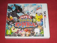 Super Pokemon Rumble - Jeu Nintendo 3DS Complet en Tbe